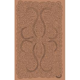 Centro rettangolare n. 008 punto tela e mezzo punto cm 39x24