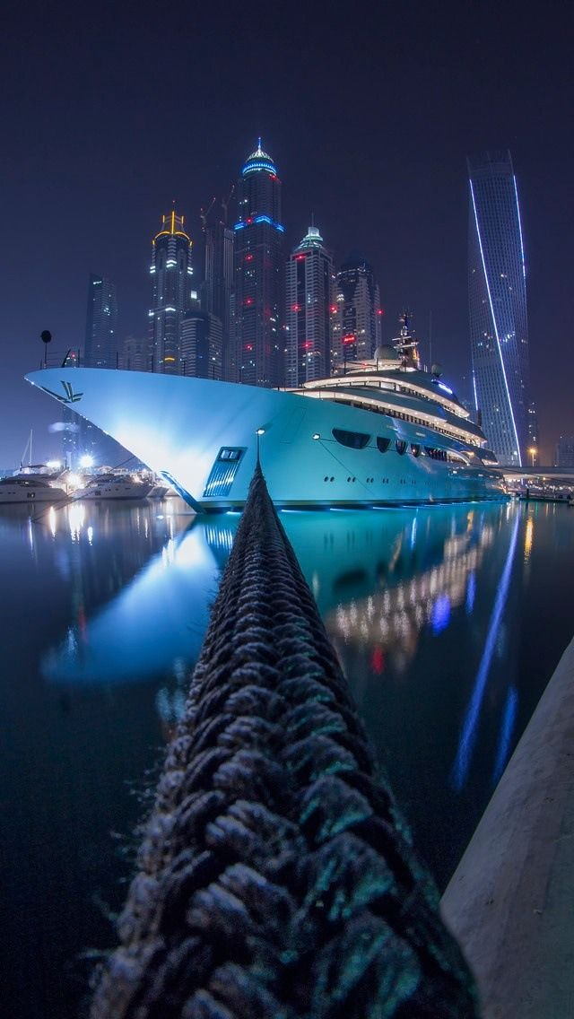 Iphone 5 Wallpapers Photo Yacht Luxury Yachts Dubai