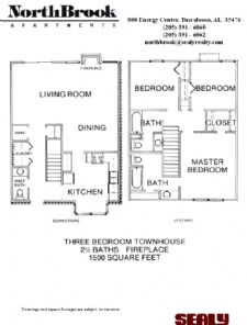 Beautiful 3 Bedroom 2 1 2 Bathroom Town Home 1500 Square Feet With W D Connections Walk In Closets Full Kitchen An Floor Plans Large Bedroom Outside Storage