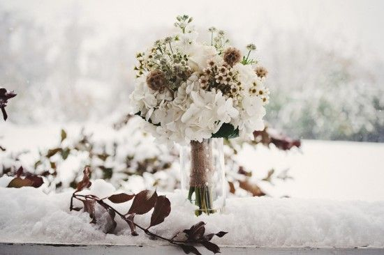 Virginia Fall Winter Snow Wedding Vineyard Sam Hurd Photography 24 550x366 Kate + Gregs Snowy Wedding at Bluemont Vineyard in Virginia