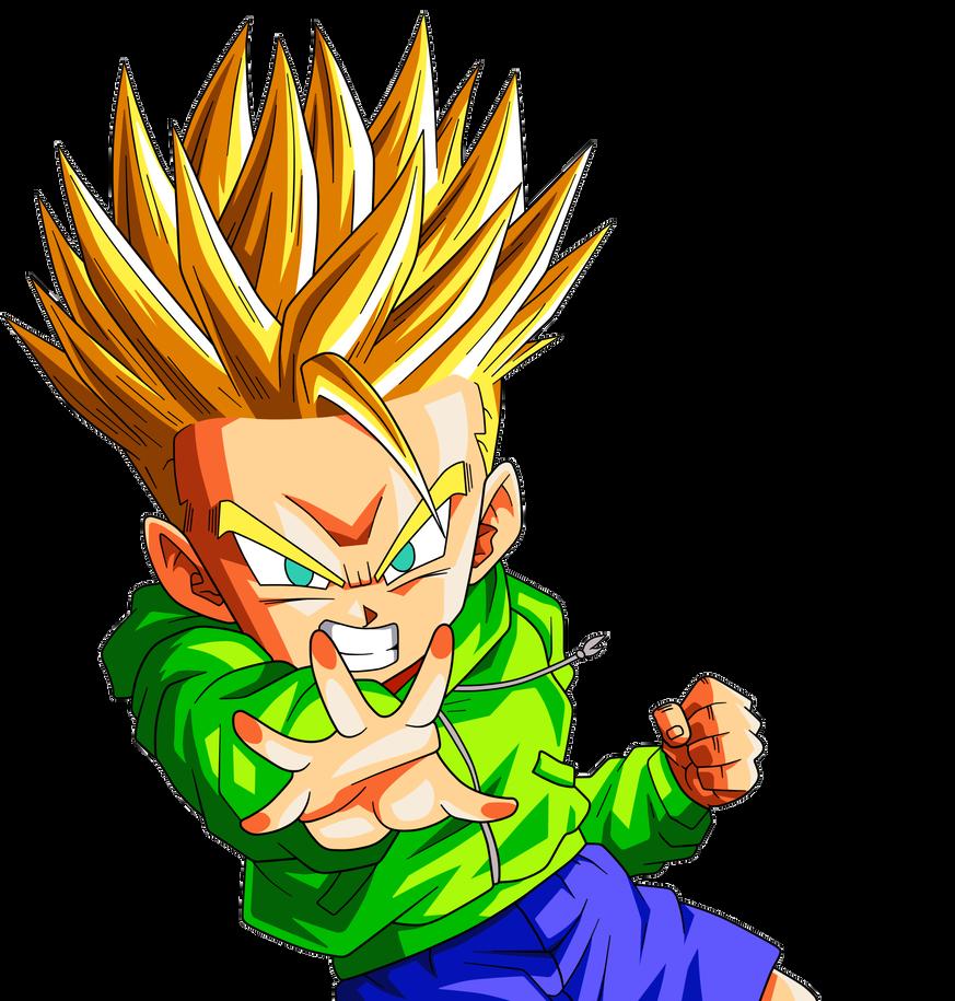 Trunks Kid Ssj By Leorine Dragon Ball Super Artwork Anime Dragon Ball Super Dragon Ball Painting