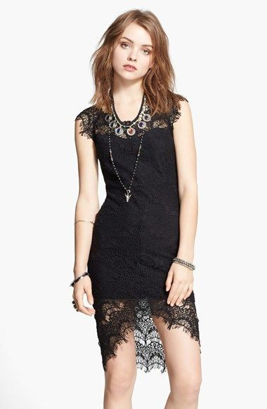 8d679067642 Free People Lace High/Low Sheath Dress | fashion | Nordstrom dresses ...
