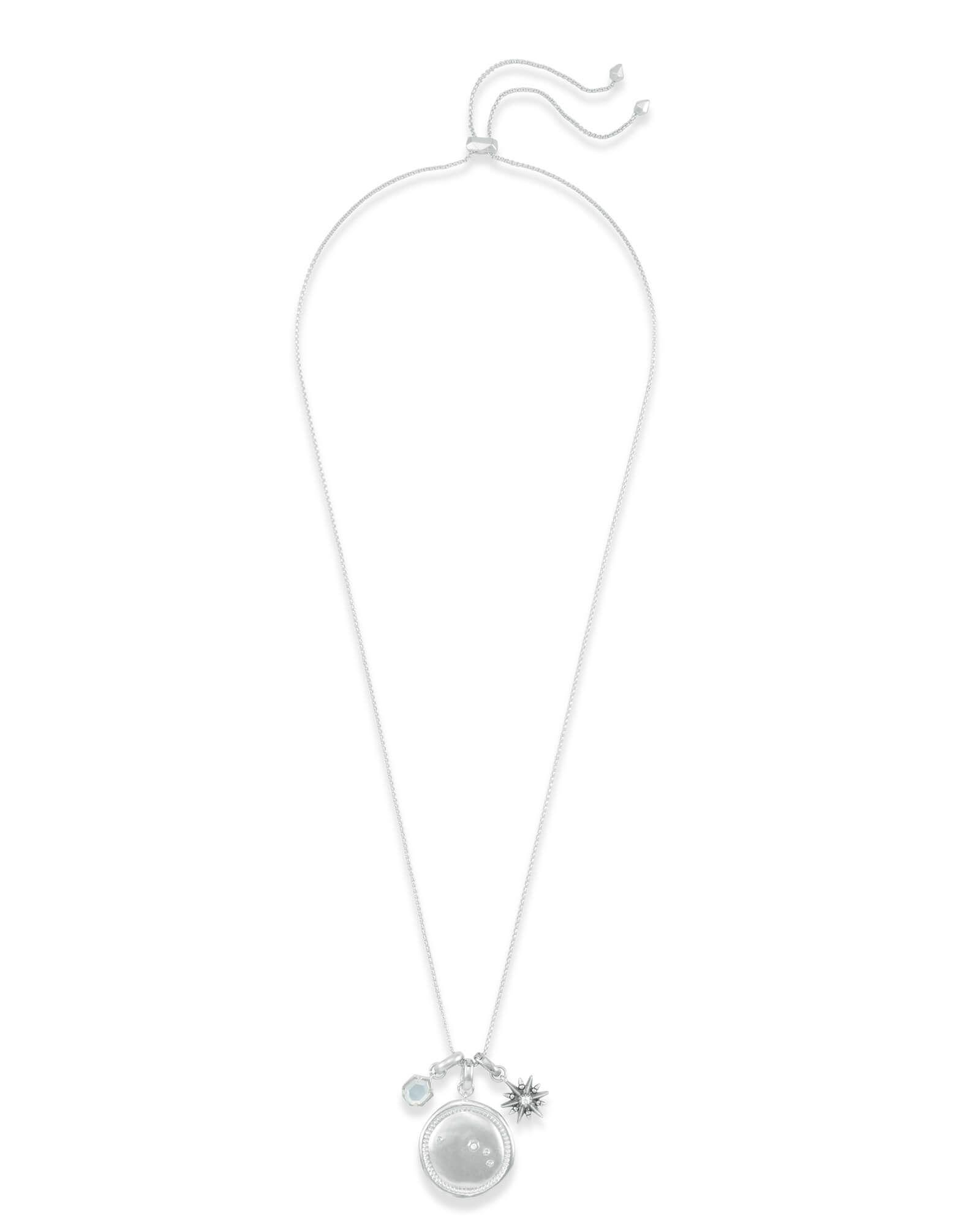 Kendra Scott Light Blue Illusion Necklace