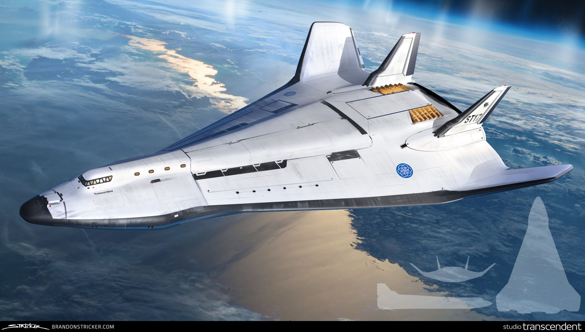Space Shuttle design made for a VR Experience commissioned ...