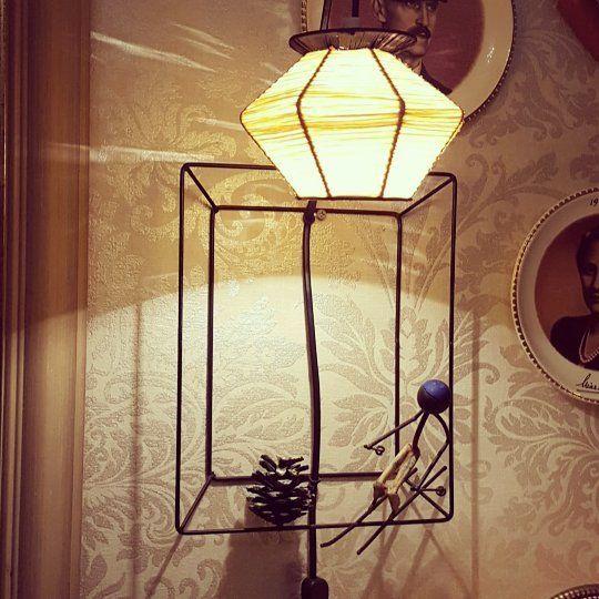 Verdens Cooleste Lampe Ever Brorbonfils Midcentury Retrointerior Retrohjem Interior Retrolampe Retro 506070tal Kunst Retro Lampe