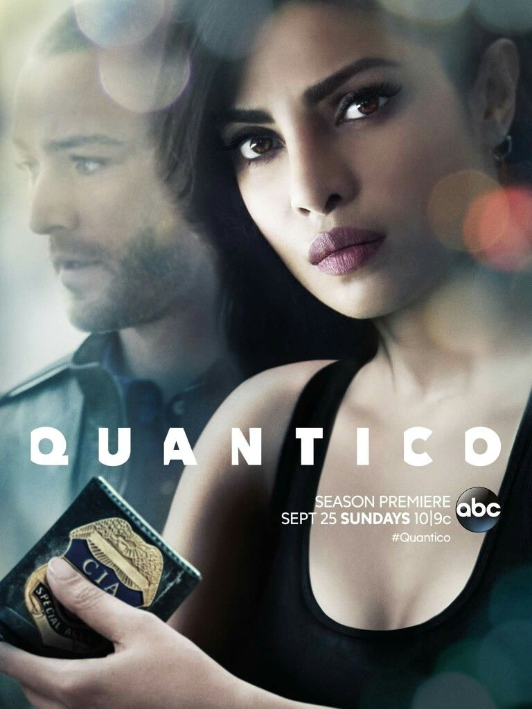 Priyanka Chopra Quan2c0 Poster With Images Quantico Tv Show