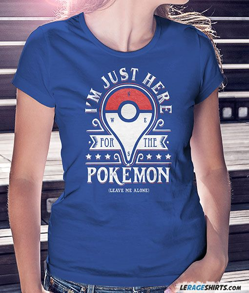 234c7169 Here For The Pokemon T-Shirt | Blusas