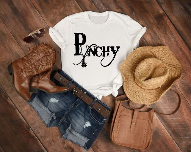 Download Punchy-cowgirl attire-spur-western shirt-soft comfy T ...