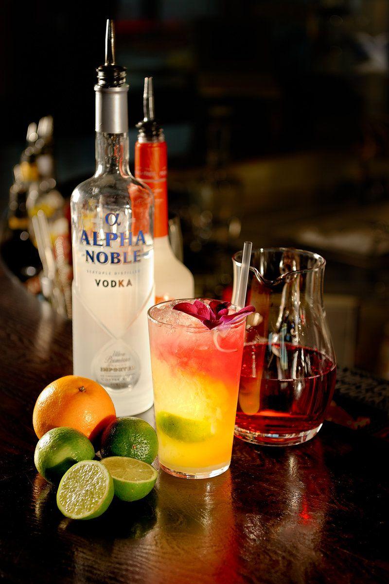 Vodka & Fruit Cocktail