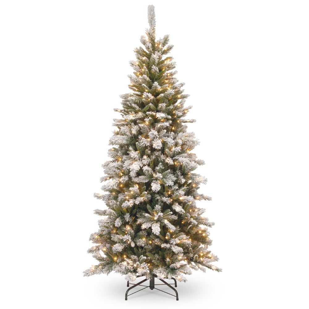 Overstock Com Online Shopping Bedding Furniture Electronics Jewelry Clothing More In 2020 Slim Christmas Tree Pine Christmas Tree Pre Lit Christmas Tree