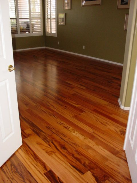 Tigerwood Hardwood Floor New Home Pinterest Engineered