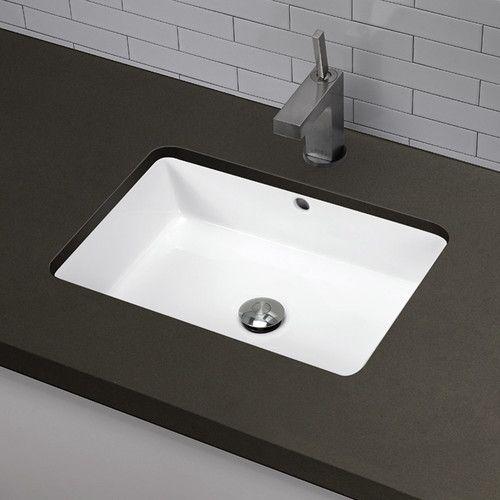 Found It At Wayfair Clically Redefined Rectangular Undermount Bathroom Sink