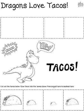 Dragons Love Tacos Epre K Dragons Love Tacos Preschool Books Dragons Love Tacos Party