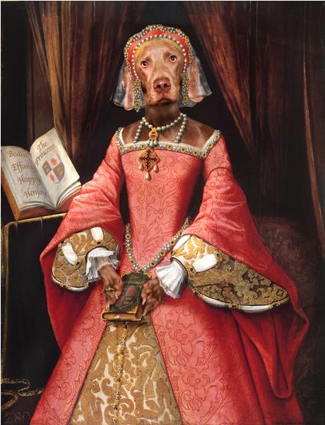 Pet Portrait By Valerie Leonard Collection 1 Princess Elizabeth 1 St Elizabeth I Tudor Era Tudor Dynasty