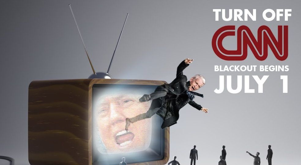 Trump supporters organized a boycott of CNN from July 1 to August 14 as a…