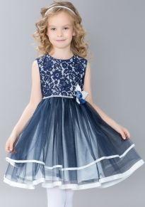 66f20e42f10 Нарядные платья для девочек – купить детское праздничное платье в интернет  магазине Baby-modnik Платья