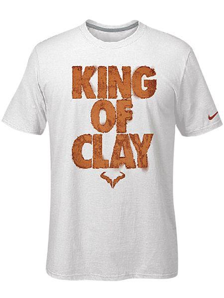 amplia selección de colores y diseños verse bien zapatos venta Descubrir Limited Edition #Nike Men's #Rafa King of Clay T-Shirt $35 | Men ...
