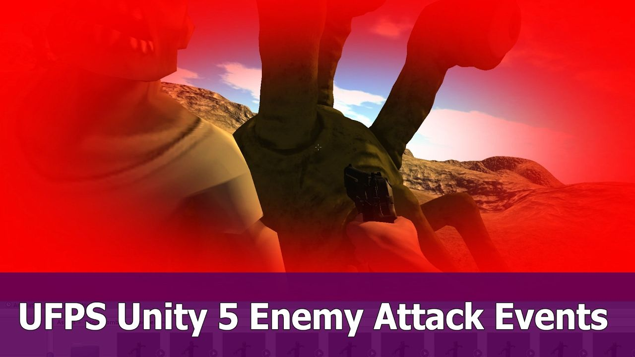 UFPS Unity : Animation Events for Enemy Attack and Damage | Unity3D