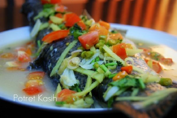 Resepi Ikan Kukus Chinese Style ~ Resep Masakan Khas