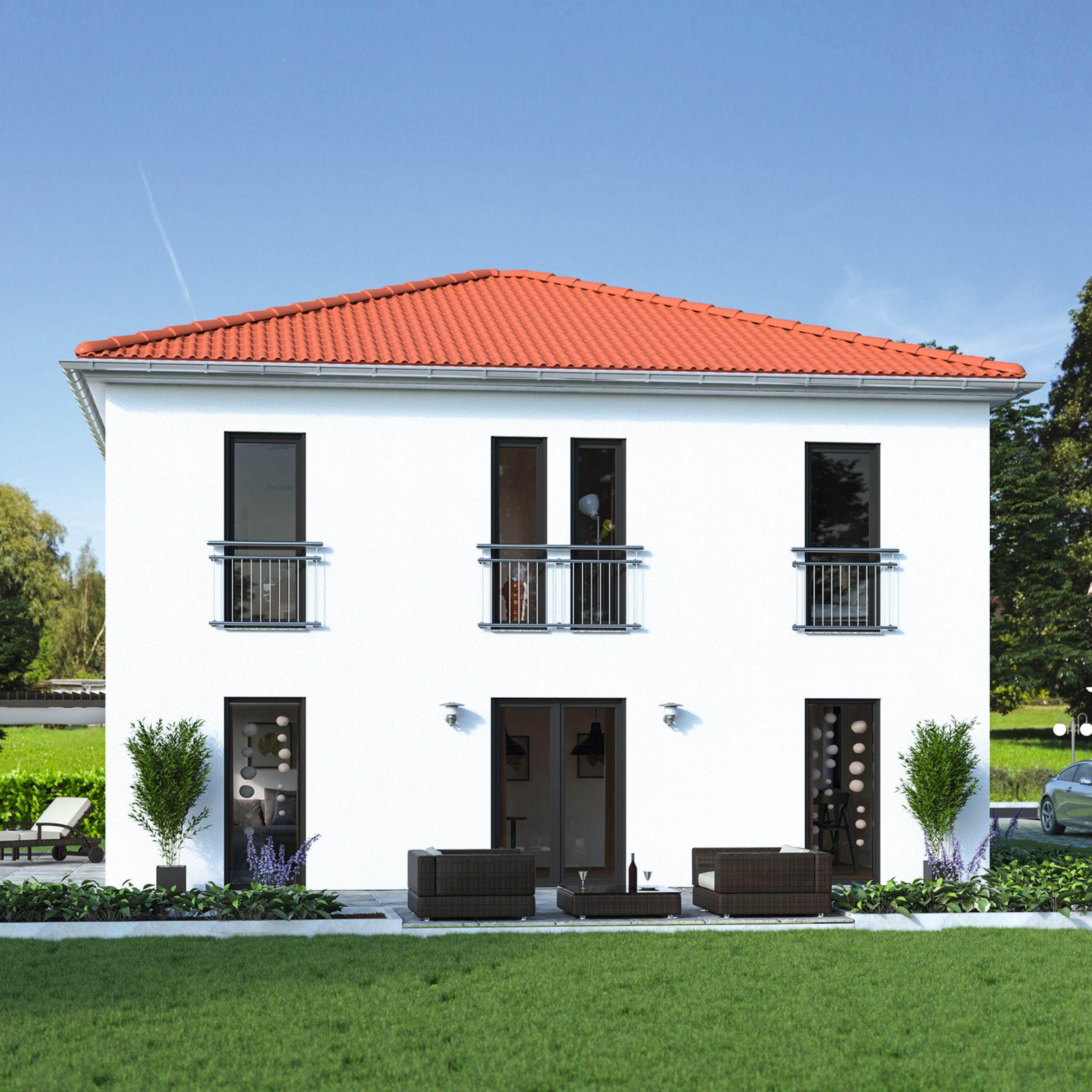 Edita 141 - schlüsselfertiges Massivhaus #ausbauhaus ...