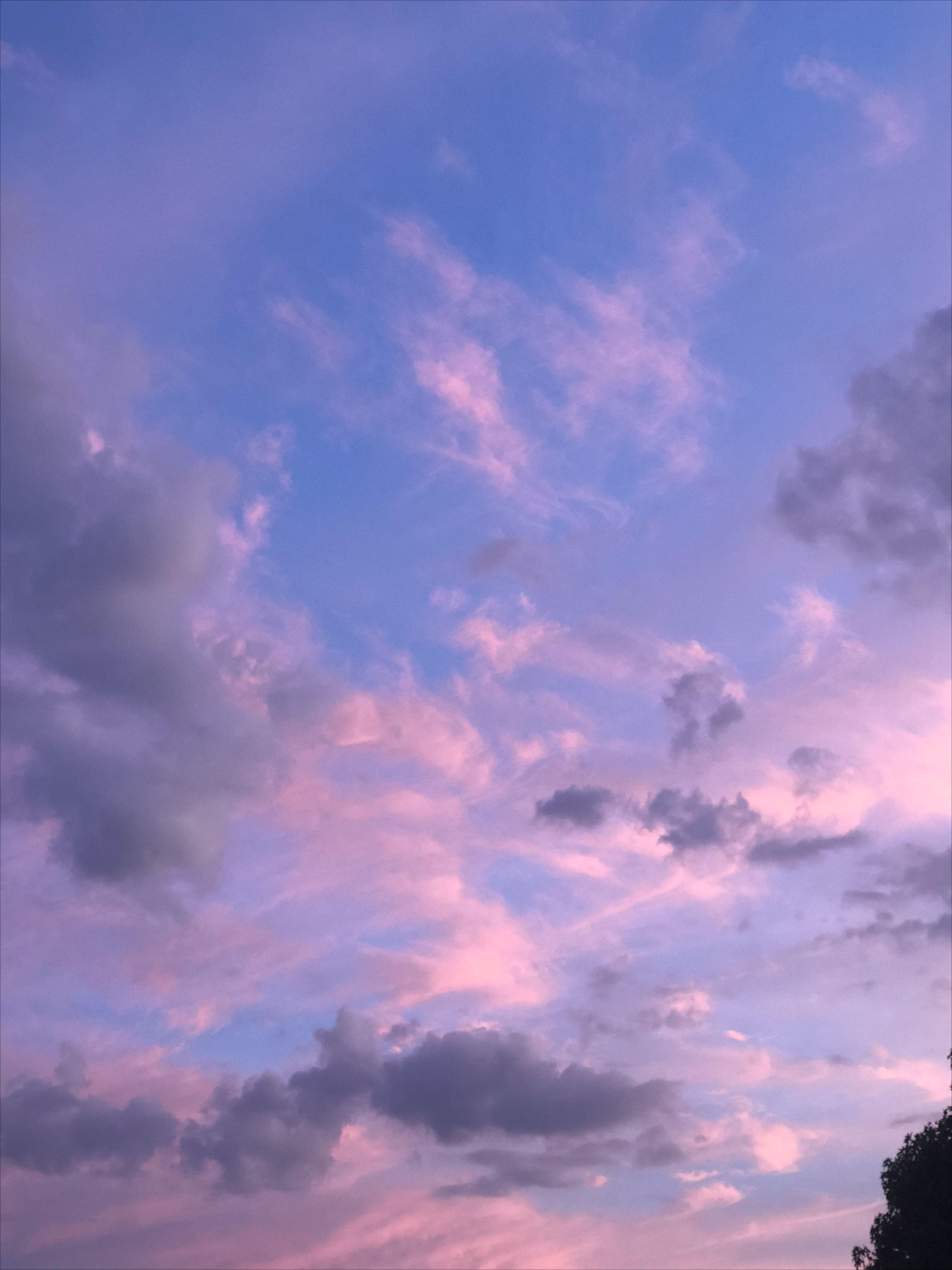 Clouds Sky Aesthetic Purple Sky Purple Aesthetic