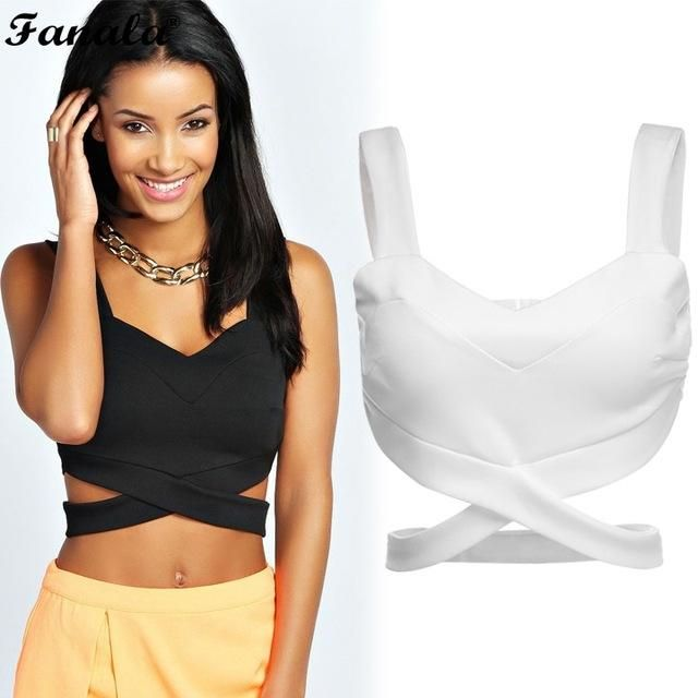 b6719859ab6 Women Bustier Seamless Crop Top Tank Tops Corset Clubwear Plus Size S-L  Drop shipping