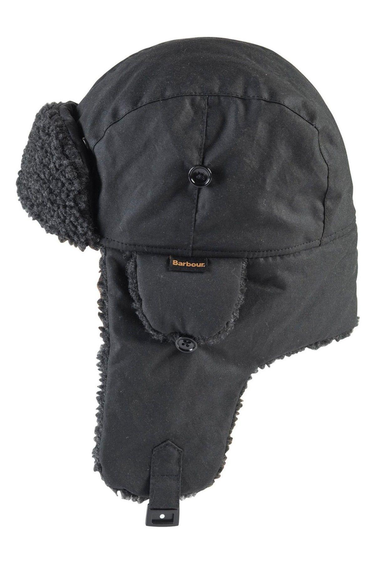8008e00f11c Fleece Lined Trapper Hat. Fleece Lined Trapper Hat Barbour Mens ...