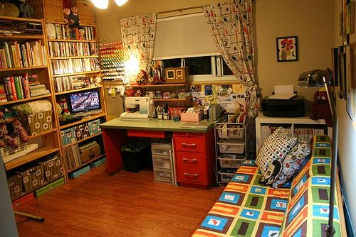 #Craft Room Clean-Up - AFTER!