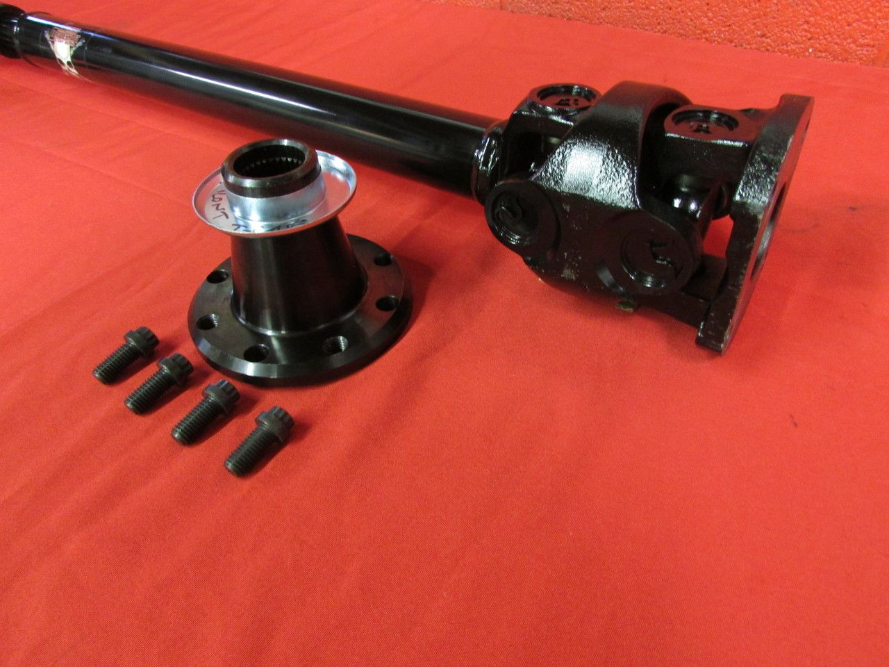 Adams Driveshaft Jk Front 1350 Cv Driveshaft Extreme Duty Series Solid U Joint Joint Dyson Vacuum Solid