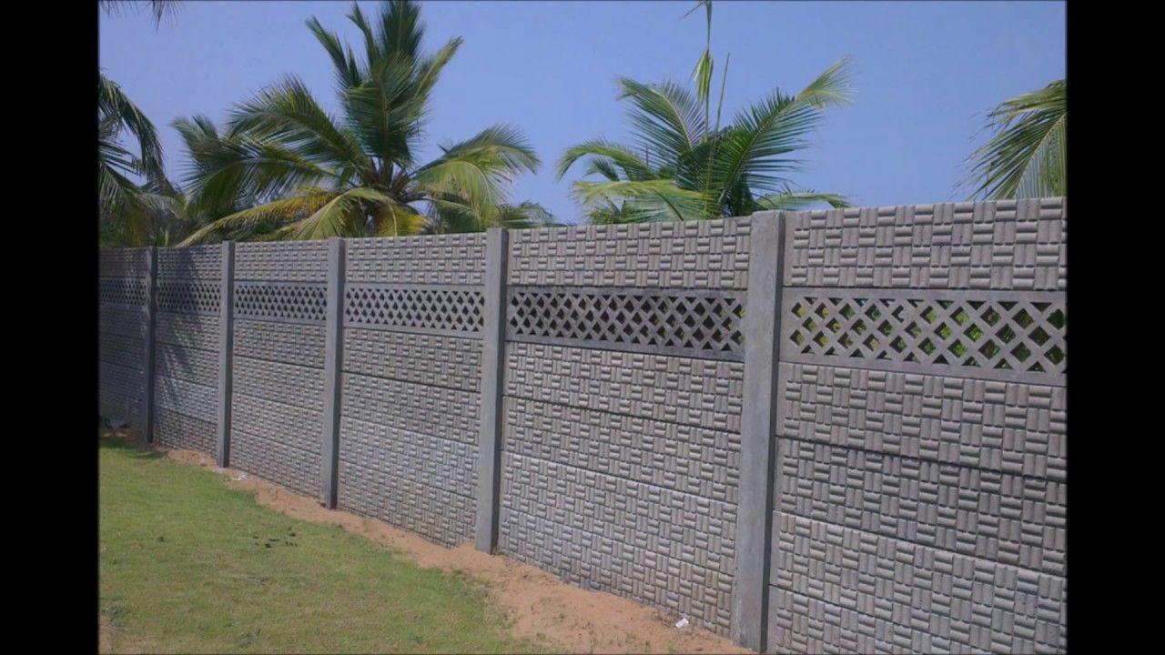 Precast Boundary Walls Chennai In 2020 Compound Wall Design Boundary Walls Compound Wall