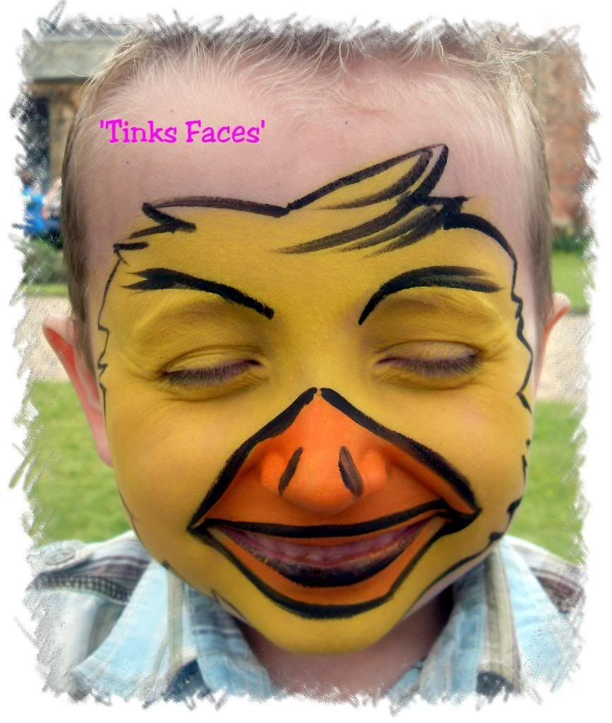 Image detail for -Face Painting :: Feathers Easter Face paint ...