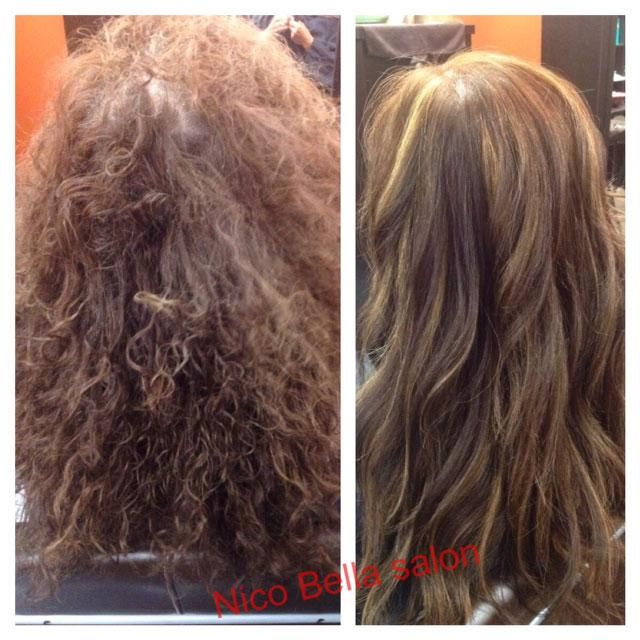 COLOR CORRECTION: Saving 25 Years Permed Hair - Career | Color ...