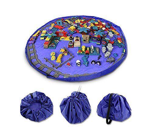 Eggo Toy Storage Bag Playbag 60 Inch 150cm Toy Mat Organizer Great