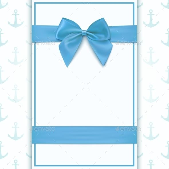 Blank Greeting Card Template For Baby Boy Shower Celebration Or Baby Boy Announcement Card Greeting Card Template Birthday Card Template Blank Birthday Cards