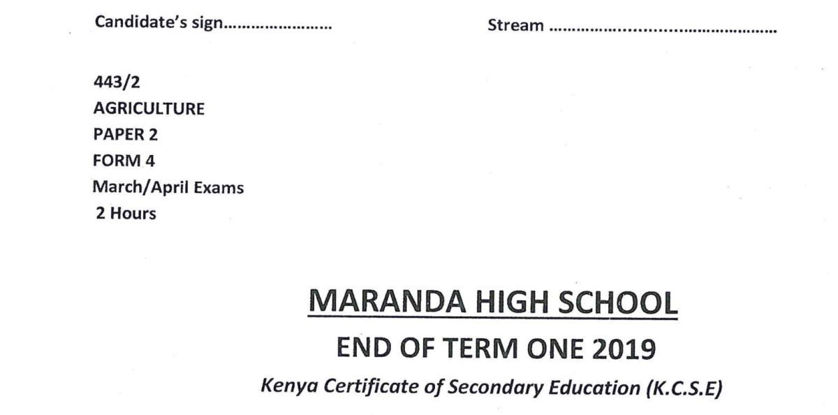 Kcse kiswahili paper 1 2018 with knec marking scheme answers