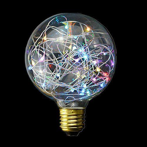 Edison Bulbs Fireworks LED Filament