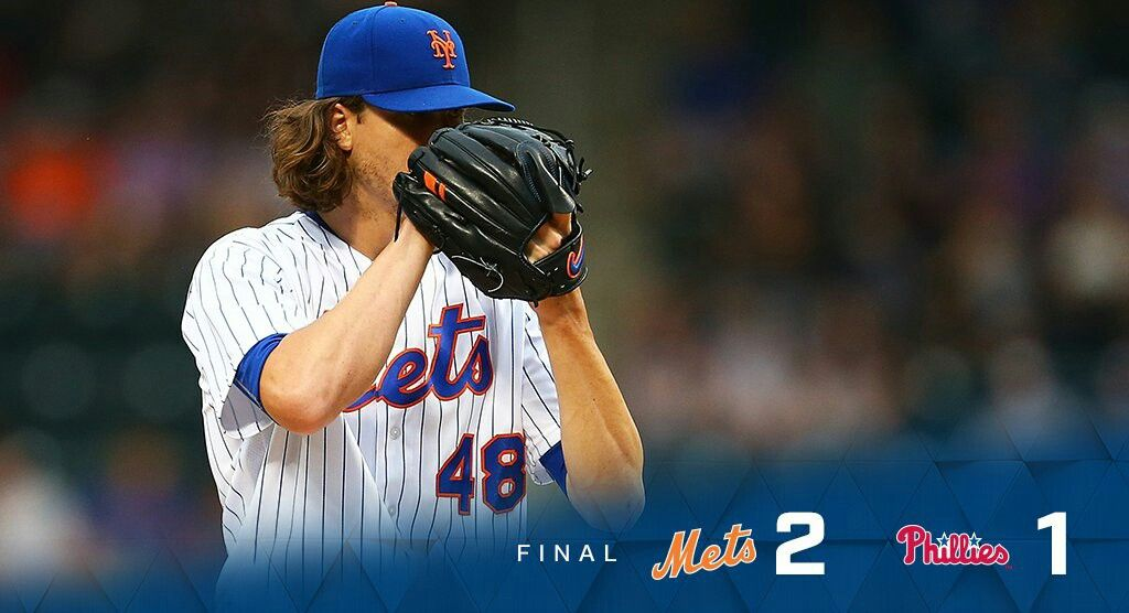 2017 New York Mets Game 79 Mets Beat The Phillies 2 1 Mets Game Mets New York Mets Game