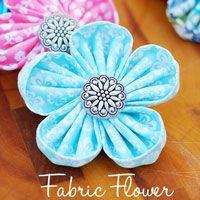 Fabric-Flowers