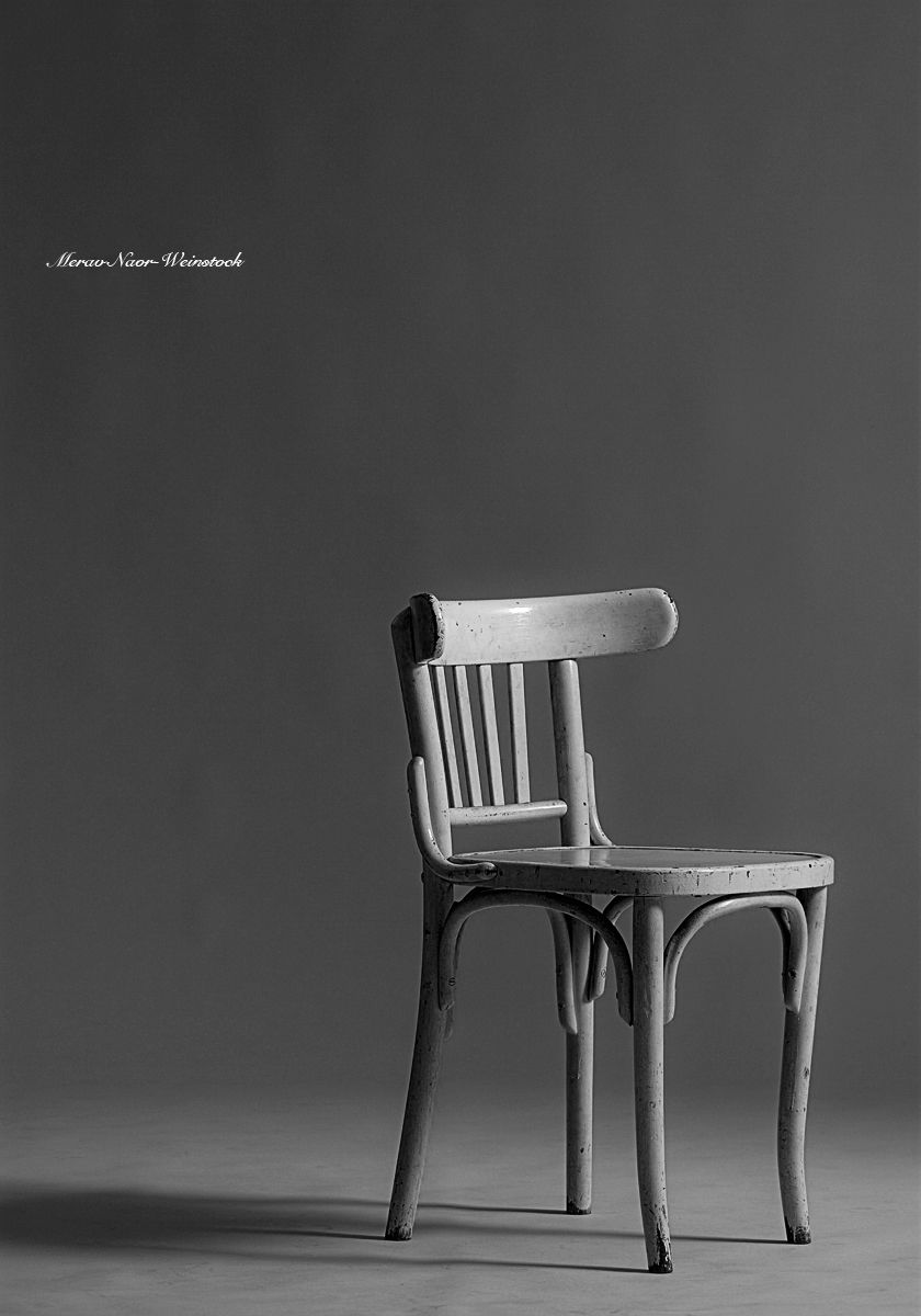 The white chair of life. One photo from my last solo exhibition which raised the issues of passages in time.