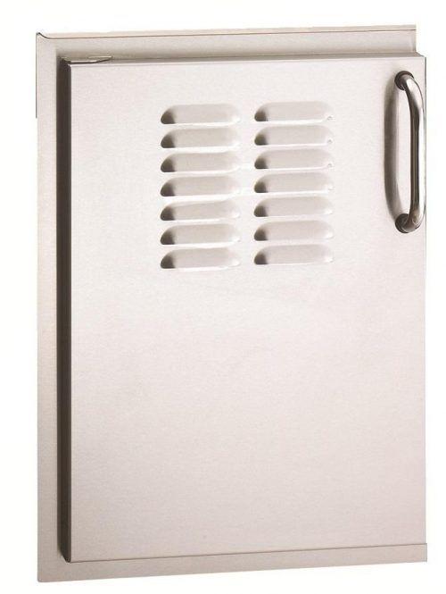 Outdoor Kitchen Louver Doors Fire Magic 33920 1s Sleek Storage Door Storage Hinges