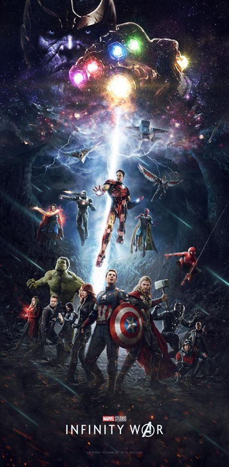 Captain America Poster A2 Vengadores Avengers Infinity War Capitan America