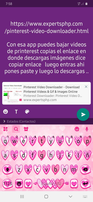 Descarga Tu Video De Printerest Pinterest Video Search Video Download Video