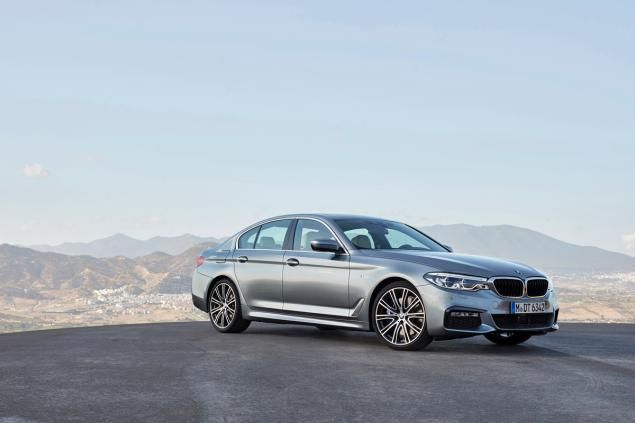 First Pictures 2017 Bmw 5 Series Photos Bmw Bmw 5 Series New