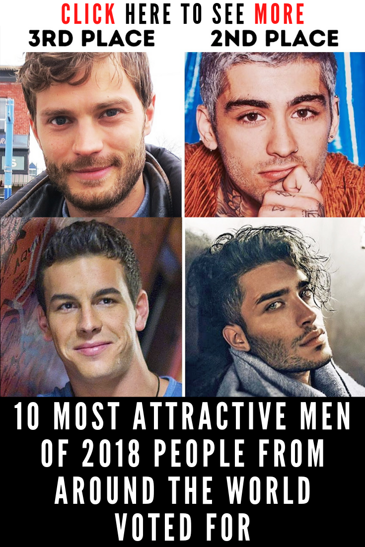 10 Most Attractive Men of 2018 People From Around the World Voted For