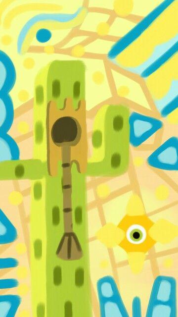 Cactus con guitarra