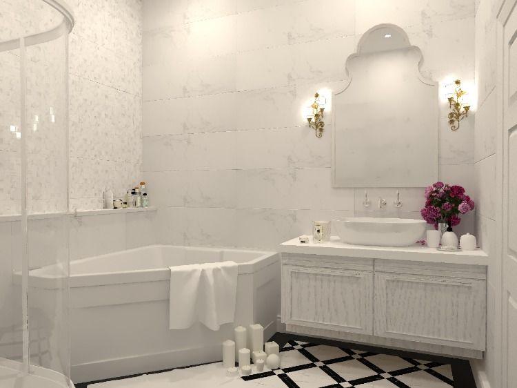 Luxury classic Style ห้องน้ำ