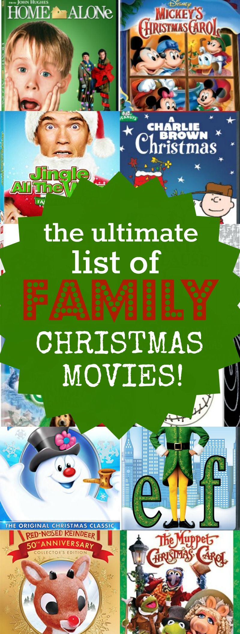 Lists of the best family Christmas movies 17