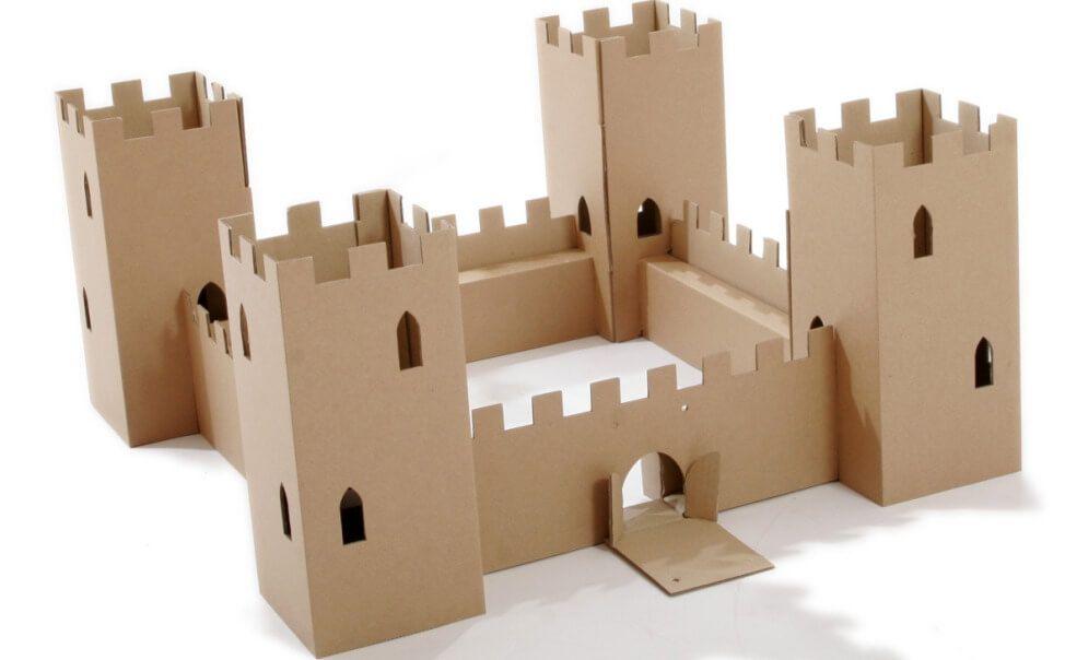 поделка замок из картона своими руками схемы шаблоны сходятся мнении
