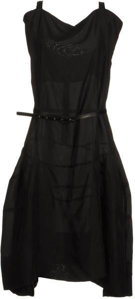 Vivienne Westwood Anglomania Black 34 Length Dresses