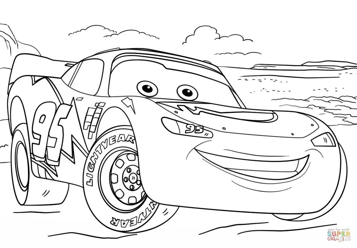Cars 3 Coloring Pages Lightning Mcqueen From Cars 3 Coloring Page Free Printable Entitlementtrap Com Disney Coloring Pages Cars Coloring Pages Coloring Pages